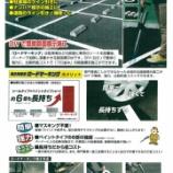 『強力溶着式ロードマーキング@新富士バーナー㈱【施工】【路面表示】』の画像