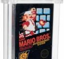 未開封マリオに7千万円 米競売、ゲームで史上最高