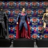 『本物キタ〜〜〜バットマンとスーパーマンのスーツが日本初上陸!』の画像