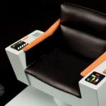 スタートレック宇宙大作戦、カーク船長の椅子キャプテン・チェアがフィギュアになった!