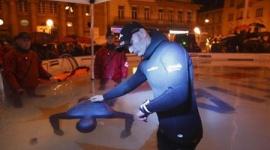 無呼吸で22分30秒、クロアチア人ダイバーが世界新記録