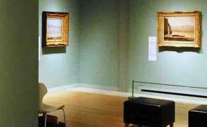 汐留美術館で見た「海の風景画」