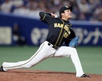 阪神小野泰己さん2.45 0勝1敗5H WHIP2.00