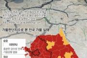 【韓国】干からびた田畑…全国76%が「大変危険な状態」
