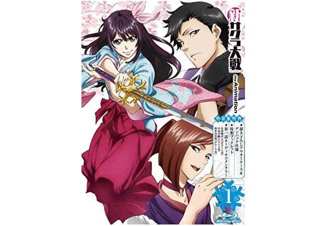 アニメ新サクラ大戦さん、円盤売上1300枚