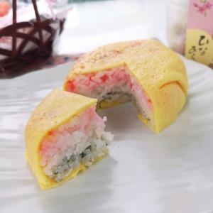 ひな祭りの一品♪菱餅風3色おにぎり