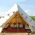 【五輪】ホテルが足りないため、観客は空き地にテント泊することに。ただしテントの持込は不可。都指定の業者からのレンタルのみ。