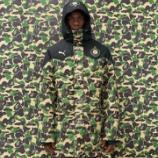『サッカーイタリア代表 バロテッリを起用 11/28 Bape(R) x Puma』の画像