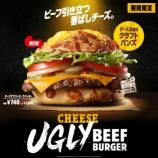 『【ファーストフード:バーガーキング】チーズアグリービーフバーガーセット』の画像