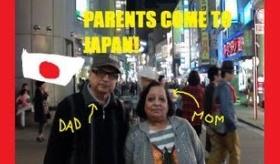 【日本観光】   日本に 両親が訪ねて来たけど その両親がまったく笑っていない観光動画(´・ω・`)   海外の反応