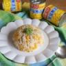 コーン缶詰で簡単炊き込みご飯