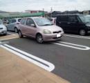 女性専用駐車スペースが登場 車止め多くし枠はピンク色 完全に女をバカにしててワロタ