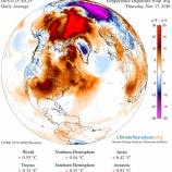 『北極圏の異常高温』の画像