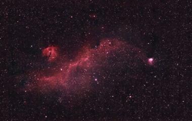 『カモメ星雲 2020/02/21』の画像