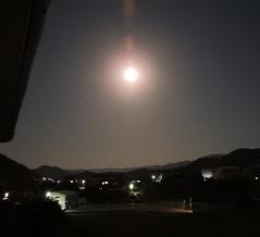 月がとってもきれいだから・・・