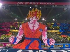 """【 画像/動画 】PSGサポが披露したドラゴンボールの """"巨大孫悟空"""" コレオが話題!"""