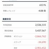 『2019年10月28日週のトラリピの利益は1,724円です。』の画像