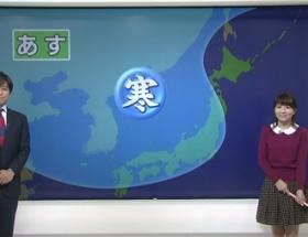 気象予報士・岡村真美子さんが子供ぽい衣装で登場し実況民絶叫