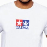 プラモデルメーカー「TAMIYA」のTシャツと見せかけて「TAIMA」のTシャツが登場!