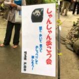 『亀戸花まつりのゆるキャラ・しゃかめくんにも遭遇!戸田市しゃんしゃん歩こう会の亀戸七福神巡りに参加しました。』の画像