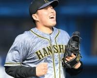 阪神・馬場、六回を7球で無失点「いい形で次につなぐことができてよかった」