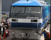 『京都鉄道博物館でEF210とコキ107特別展示 そしてサービスマークのこと』の画像