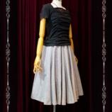 『 10枚接ぎ リネン 夏のフレアスカート』の画像