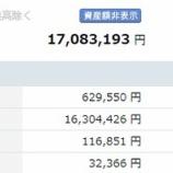 『【運用状況】6月末の資産合計は1708万円でした!』の画像