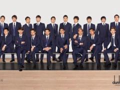 【 画像 】3月に撮影されたスーツ姿の日本代表メンバー集合写真!すでにハリルはいない・・・