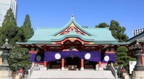 日枝神社には徳川将軍家ゆかりの刀剣も!
