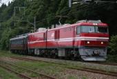 『2014/7/13~14運転 EH800-901客車牽引試運転』の画像