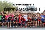 2年ぶりに復活!『交野マラソン』が来年4/22開催決定したそうな!