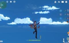 【原神】俺が岩神だ←どうやってここまで飛んだんだ?