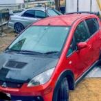 【画像】昨日でワックス塗った車がめちゃくちゃ雨を弾いてるwwwwww