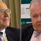 『【投資の神たちの動向】W・バフェット「コロナショックでもう投資は手仕舞い」、J・ロジャース「コロナショックの今こそ投資せよ」』の画像
