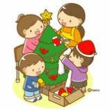 『【クリップアート】クリスマスの飾り付け』の画像