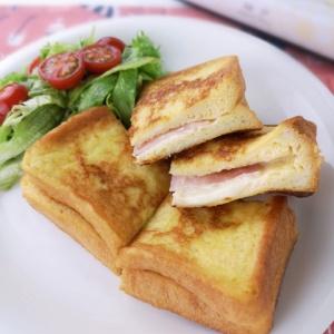 甘くない味付けで♪フレンチトーストサンド