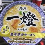 『【コンビニ:カップラーメン】【販路限定品】日清食品 麺屋一燈 ホタテ鶏油の濃厚魚介ラーメン』の画像