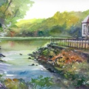 10月15日の水彩画