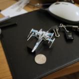 『STARWARS EPISODE7  X-WING FIGHTER (paper model) 公開終了』の画像
