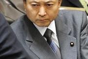 【友愛】 鳩山、偽装献金の質問をした自民の西田にガン飛ばす