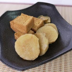 柔らかくて食べやすい♪長芋と厚揚げの生姜煮