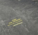 「ナスカの地上絵」付近に巨大メッセージ...文化省、グリーンピースの責任追及