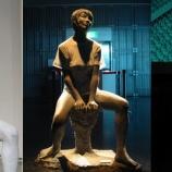 『『キリン娘 三女』裸体像Tシャツ計画』の画像