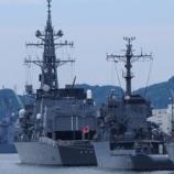 『佐世保護衛艦ウォッチング(2016年9月4日)』の画像