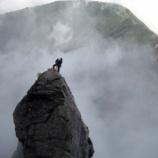 『北岳バットレス第4尾根主稜』の画像