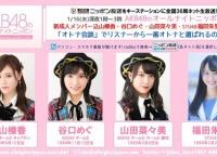 明日のAKB48のオールナイトニッポンは新成人メンバーが登場!