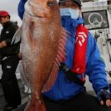 『7月19日 釣果 スーパーライトジギング 初のマダイおめでとうございます!(^^)!』の画像