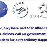 『世界の航空グループも非常事態宣言!JAL、ANA株も大暴落…』の画像