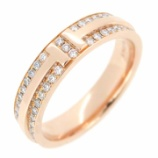 『ティファニー T TWO ダイヤモンド リング』の画像